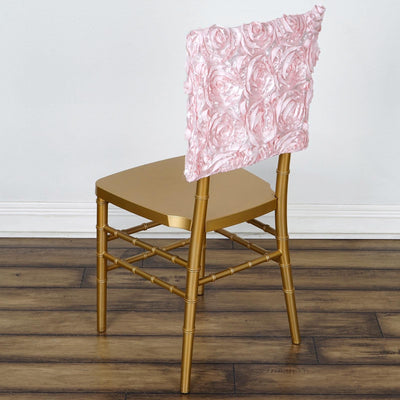 "16""  Rosette Chiavari Chair Caps Cover- Rose Gold 