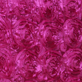 "16"" Fushia Rosette Chiavari Chair Caps Cover"