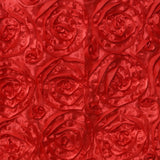 "16"" Red Rosette Chiavari Chair Caps Cover"