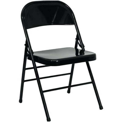 220 GSM Black Premium Polyester Folding Chair Covers