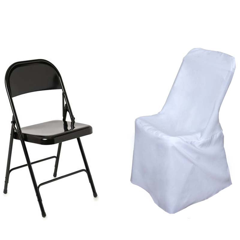 Strange White Polyester Lifetime Folding Chair Covers Frankydiablos Diy Chair Ideas Frankydiabloscom