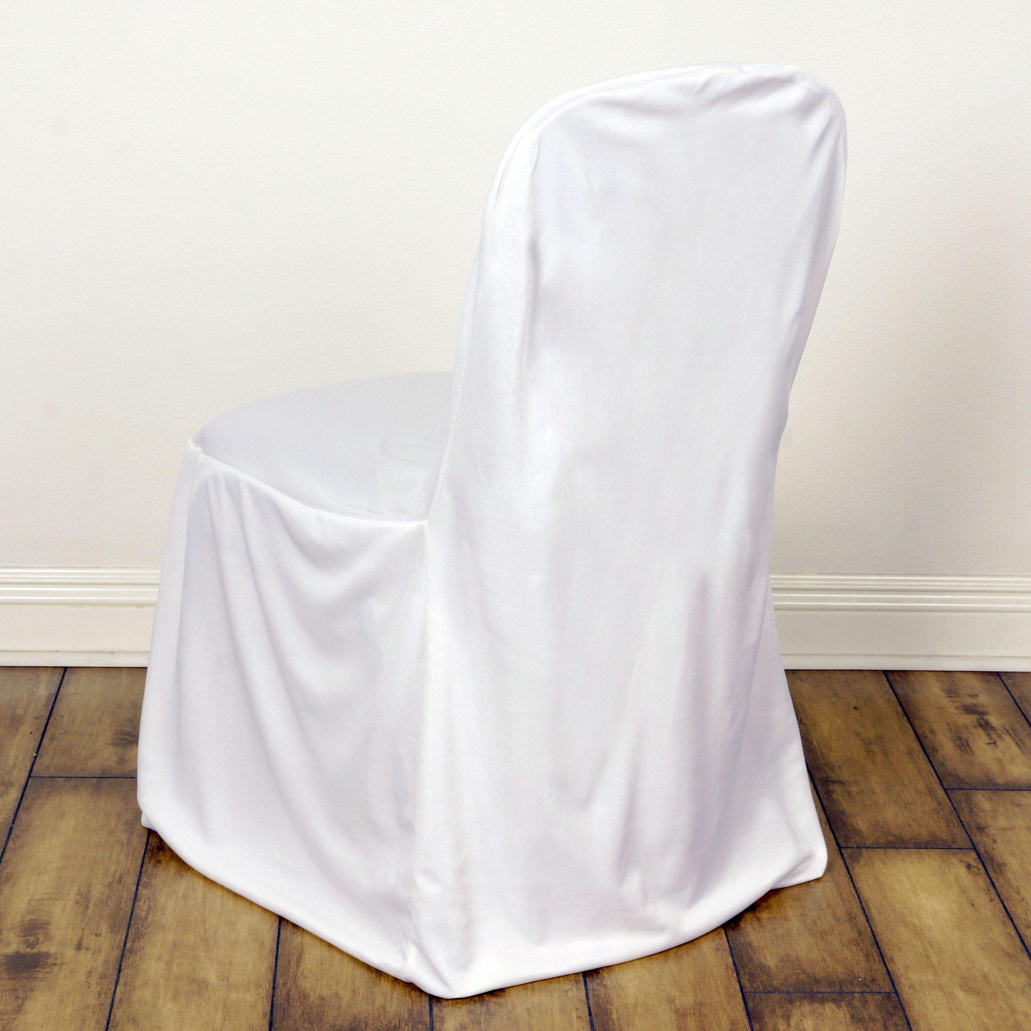 Chair Covers Stretch Scuba White Tablecloths Factory