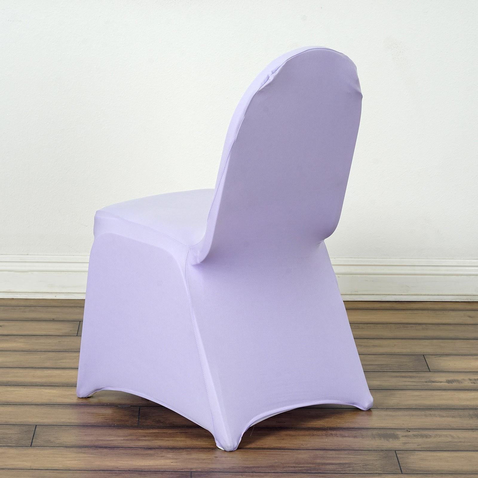 Captivating Chair Covers / Spandex   Lavender ...