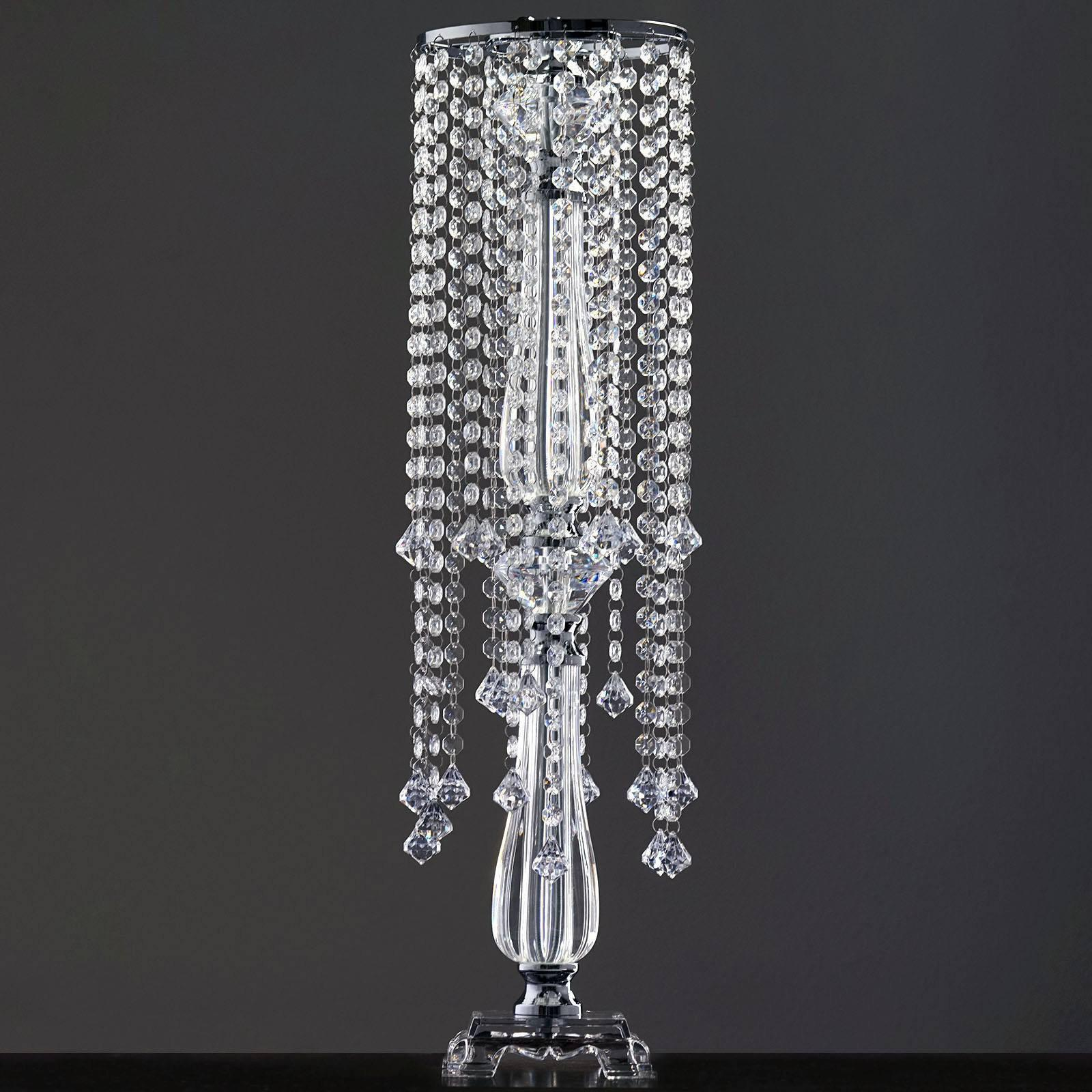19 Hanging Crystals with Large Teardrops Diamond Crystal Chandelier ...