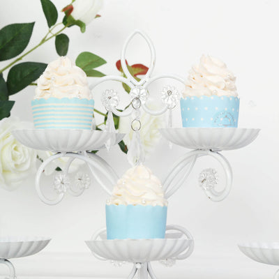 White Cupcake Stand, Cupcake Holder, Display Stand