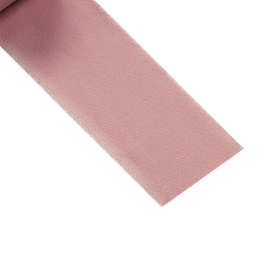 Set of 2 Dusty Rose Chiffon Ribbon Rolls For Bouquets, Wedding Invitations & Gift Wrapping