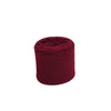 Set of 2 Burgundy Chiffon Ribbon Rolls For Bouquets, Wedding Invitations & Gift Wrapping