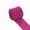 Set of 2 Fushia Chiffon Ribbon Rolls For Bouquets, Wedding Invitations & Gift Wrapping