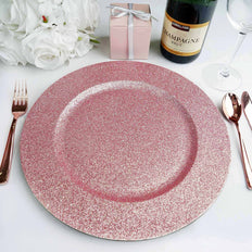 "Pack of 6 | 13"" Round Blush 