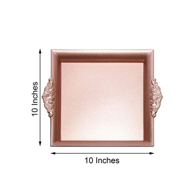 "2 Pack | 10"" Rose Gold 