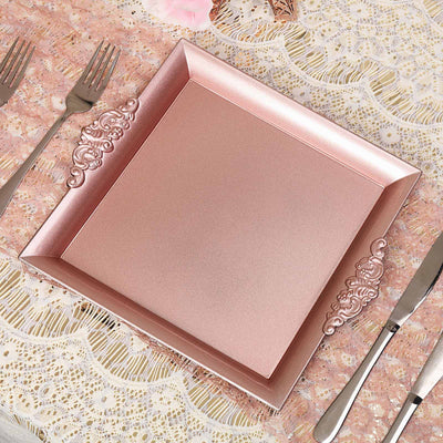 Decorative Acrylic Serving Trays, Charger Plates, Charger Serving Trays