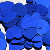 Dreamy Metallic Foil Wedding-Party Heart Confetti Sprinkles- 300 PCS-Royal Blue