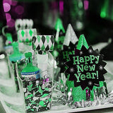 300 PCS Green Twinkling Metallic Foil Star Confetti Sprinkles