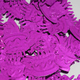 Metallic Foil Birthday Cake Confetti-300 PCS-Purple