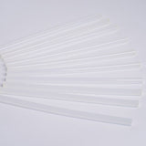 10 pcs Clear Glitter Hot Melt Glue Sticks For DIY Art Craft Sealing Repair Tool - 11mm x 10""