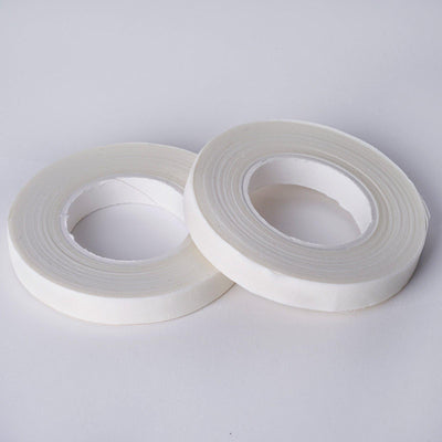 "2 Pack | 90 FT 1/2"" White Floral Tape for Stem Wrap"