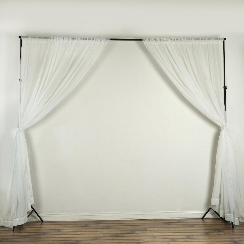 grommets faux curtains panel of window pair w owen silk panels curtain ivory