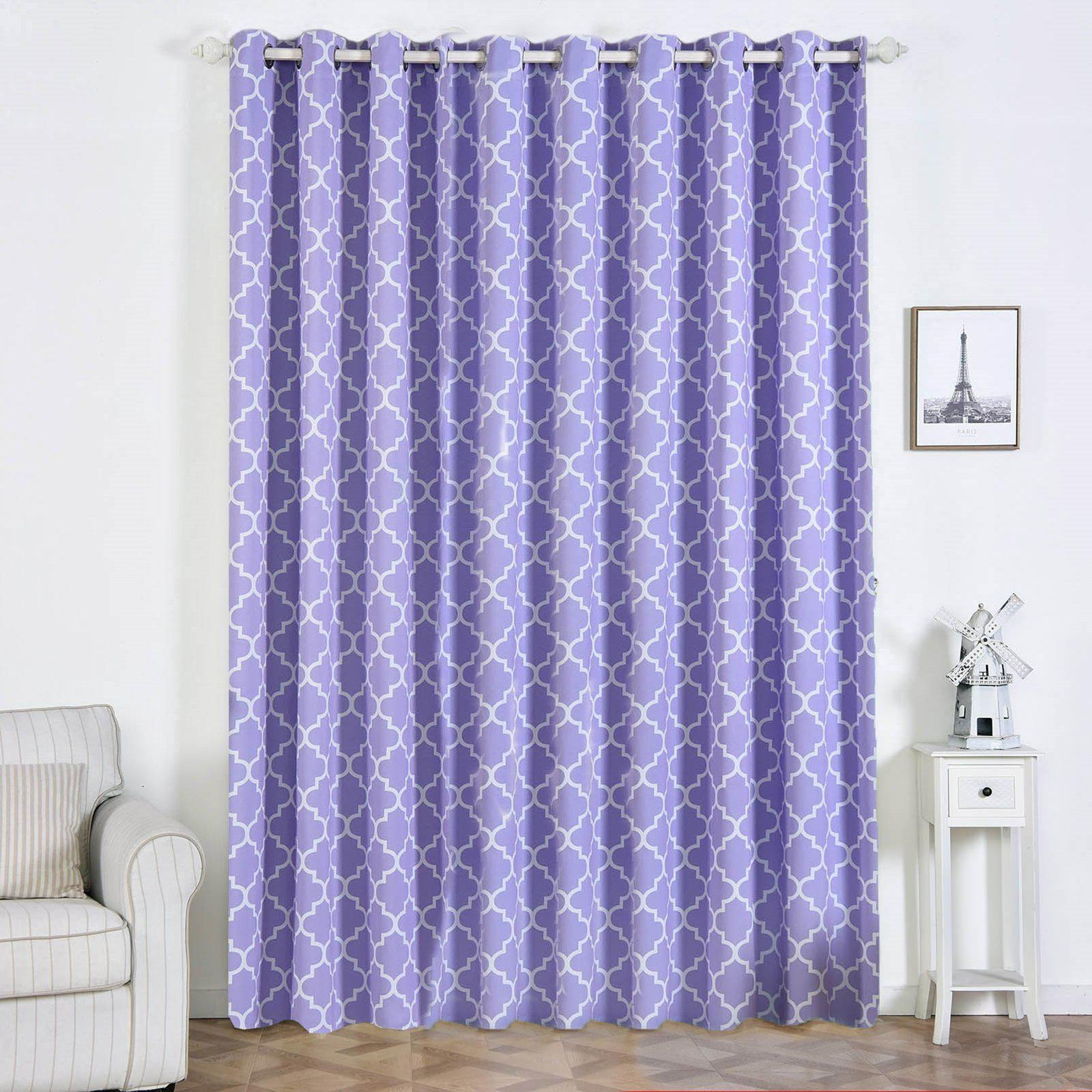 108 Inch Heavy Material Curtain Panels