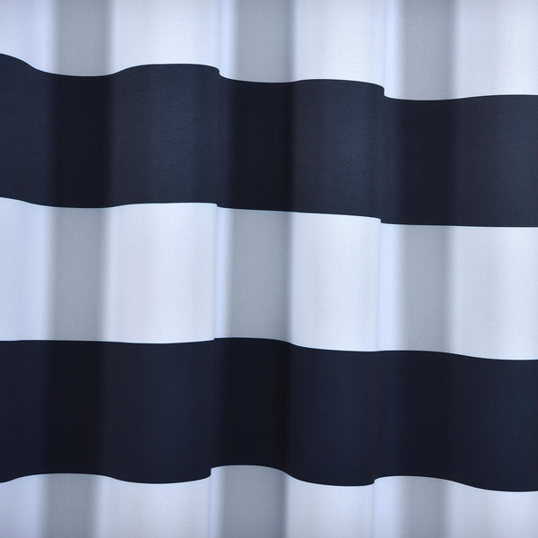 2 Pack 52 Quot X84 Quot Cabana Stripe Thermal Blackout Curtains