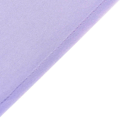 Pack of 2 | 5FTx10FT Lavender Fire Retardant Polyester Curtain Panel Backdrops With Rod Pockets