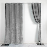330 GSM Silver Blackout Curtains | Pack of 2 | 52 x 108 Inch Blackout Curtains | Room Darkener Curtains