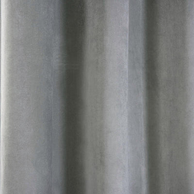 "2 Pack | 52""X64"" Silver Premium Velvet Thermal Blackout Curtains With Chrome Grommet Window Treatment Panels"