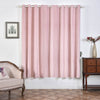 Blush Blackout Curtains | Pack of 2 | 52 x 84 Inch Blackout Curtains | Room Darkening Curtains With Grommets