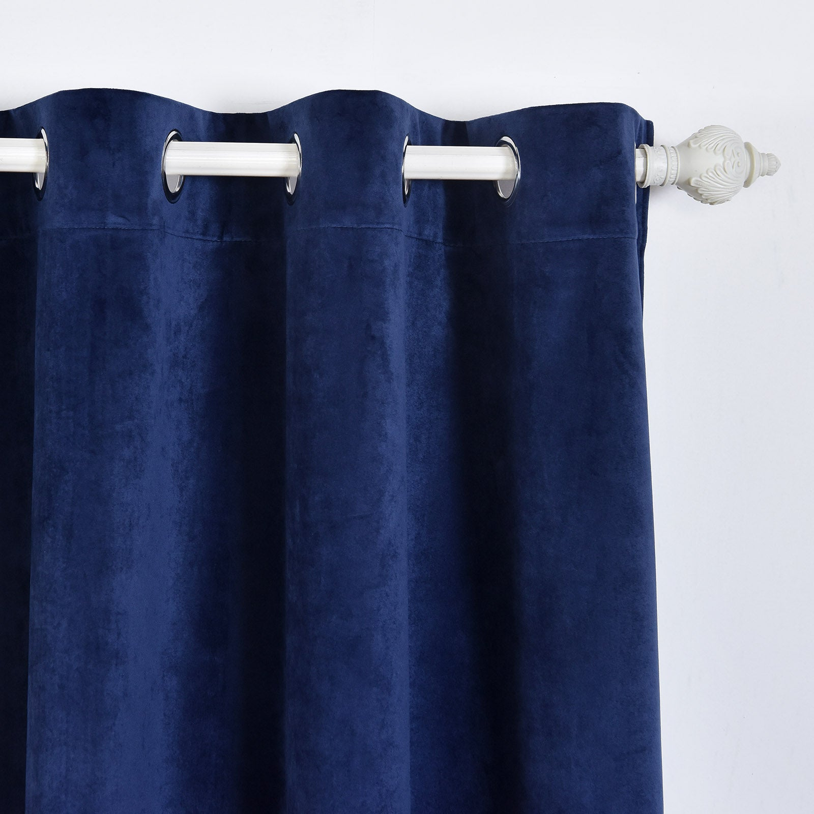 navy blackout curtains living room pack 52