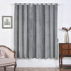 Silver Blackout Curtains | Pack of 2 | 52 x 84 Inch Blackout Curtains | Room Darkener Curtains