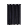 Black Soundproof Curtains  | 2 Packs | 52 x 108 Inch Blackout Curtains | Grommet Velvet Curtains