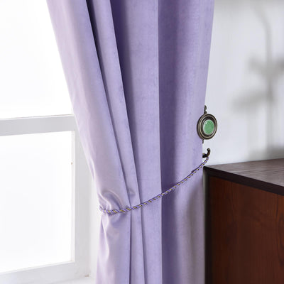 Lavender Blackout Curtains  | Pack of 2 | 52 x 108 Inch Blackout Curtains | Room Darkening Curtains With Grommets