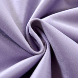 "2 Pack | 52""X108"" Lavender Soft Velvet Thermal Blackout Curtains With Chrome Grommet Window Treatment Panels"