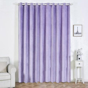 Lavender Blackout Curtains  | 2 Packs | 52 x 108 Inch Blackout Noise Reducing Curtains | Room Darkening Curtains With Grommets