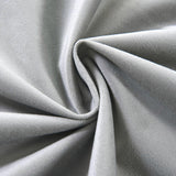 Silver Velvet Blackout Curtains | 2 Packs | 52 x 108 Inch Blackout Curtains | Room Darkening Curtains With Grommets
