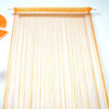 8 Ft Long Orange Silk String Tassels Backdrop Curtains for Party