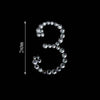 10 PCS | Self Adhesive Crystal Number Rhinestones - 3 - Clearance SALE
