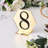 4 inch Black Self-Adhesive Rhinestone Number Stickers for DIY Crafts - 8
