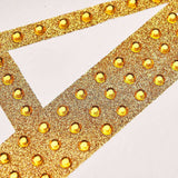 Gold Self-Adhesive Rhinestone Letter Stickers, Alphabet Stickers for DIY Crafts - G