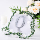 6 inch Silver Self-Adhesive Rhinestone Letter Stickers, Alphabet Stickers for DIY Crafts - Q
