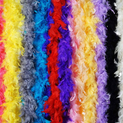 Lush-Chandelle Turkey Boas-White-2 Yards 50g