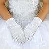 Pair Of Washable Satin Gloves For Kids | Usher Gloves