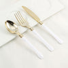 Plastic Spoon, Golden Spoon, Plastic Silverware
