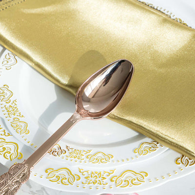 Disposable Cutlery Plastic Spoons | 7"