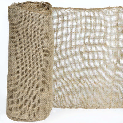 "12""x10 Yards Natural Jute Burlap Fabric Rolls"