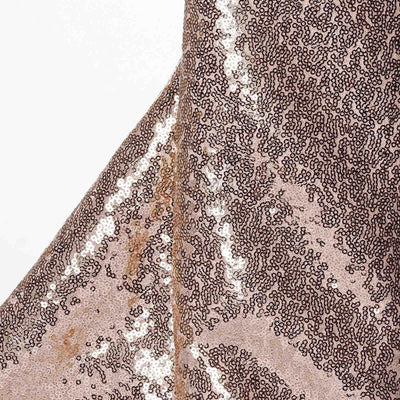 54?x 4 Yards Blush Premium Sequin Fabric Bolt Wedding Party Dress