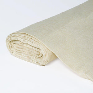 "Faux Burlap Fabric Bolt 54"" x 10yds Natural"