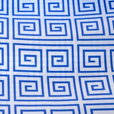 "Greek Inspired Satin Wedding Party Dress Fabric Bolt - Royal Blue - 54"" x 10 yards"