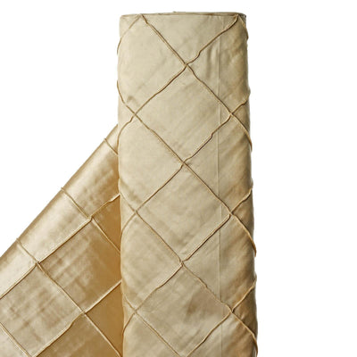 "I CAN'T STOP LOVIN PINTUCKS - 54"" x 10yards Champagne Fabric Bolt"