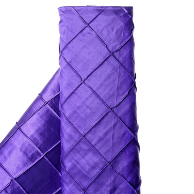 "I CAN'T STOP LOVIN PINTUCKS - 54"" x 10yards Purple Fabric Bolt"