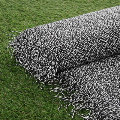 "54"" x 4 Yards Black Eco-Friendly Woven Upholstery Raffia Fabric By the Yard"